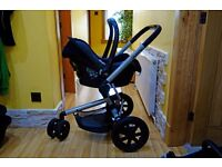 Quinny Buzz Travel System, Buggy, Pram, pushchair