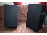 Aiwa SX-E9 3 way bass relfex speakers