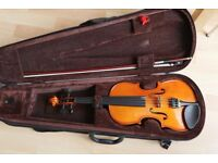 Stentor Student Standard Violin 3/4 size with Case + Bow