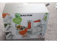 Salter Spiralizer - brand new in box