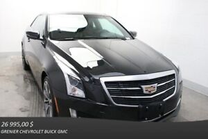 2015 Cadillac ATS COUPE AWD TURBO+PERFORMANCE+NAV+CUIR ROUGE+TOI