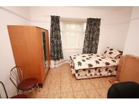 Including Bills! a spacious double room located close to East Acton, W3 Station and shops.