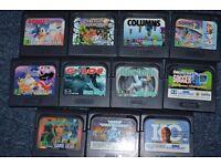 Sega Gear - 11 Games bundle