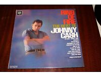 Johnny Cash Ring Of Fire, The Best of Johnny Cash 1963 Vinyl LP Record