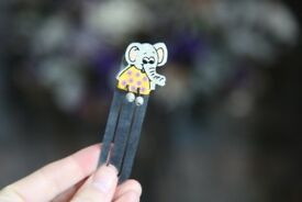 elephant bookmark - gift - books