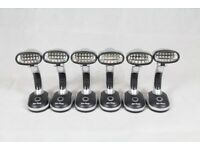 6x High Luminosity Adjustable LED Lights