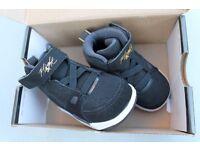 Never worn Baby Air Jordan Nike trainers Size 3.5