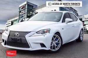 2015 Lexus IS 350 RWD 6A Accident Free| F Sport| Winter Tires