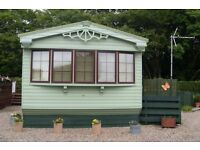 Willerby Granada Caravan. ith Summer House and shed also extra' included