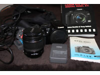 Canon EOS 400D DSLR Camera with 18-55 Canon Lens and Extras