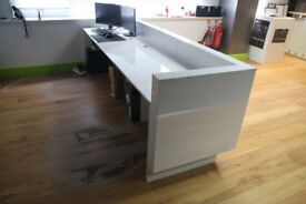 Reception Desk 3m x 0.80m