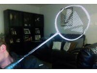 Carlton Air Intercept badminton racket Isometric head shape Japanese HM carbon