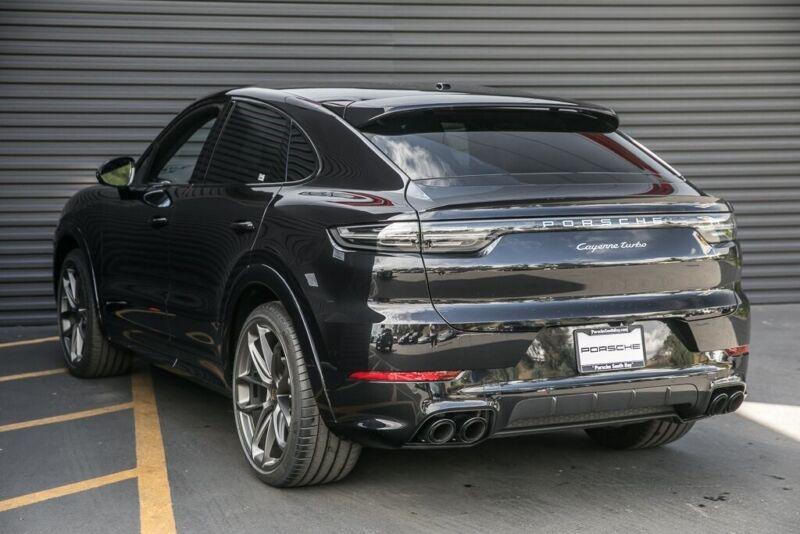 Porsche Cayenne Coupe 2020 For Sale Exterior Color Black