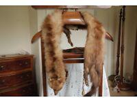 Vintage Fur stole/scarf/collar
