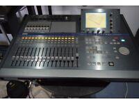 Korg D32XD multitrack recorder 24 bit 96 kHz motorised faders