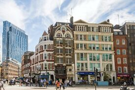 **BISHOPSGATE TWO-BED TWO-BATH** Liverpool Street Station & Spitalfields Market - Private Balcony