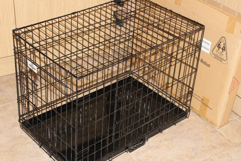 Dog Crate / Cage Medium Brand New & Boxed