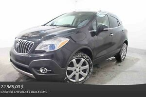 2014 Buick ENCORE CXL AWD *GPS + CUIR + TOIT OUVRANT*
