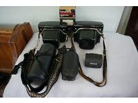 PRAKTICA Pentacon cameras x2, plus additional lenses (NON-digital)