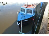28ft fishing boat