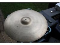"Avedis Zildjian 22"" Heavy Ride cymbal - USA - '70s"