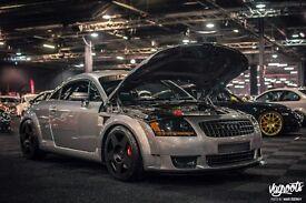 Magazine Featured Show Winning Audi TT and ABT Motorsport Widebody Audi TT