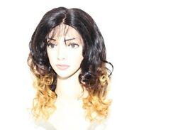 "16"" Brazilian 100% Virgin Human Hair Lace Closure Wig (Style Bodywave)"