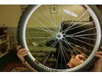 Raleigh accedo front wheel 26 x 2.10 (56 - 559) Mountain bike wheel