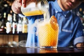 Awesome Experienced Full Time Cocktail Bartender Wanted For Amazing Premium Venue