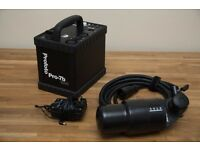 Profoto Pro-7B Battery Flash Generator and Head // 1200 Ws // New Battery Cell Fitted