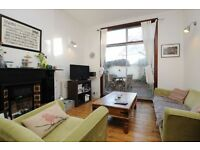 Carysfort Road, one bed flat, with study and garden