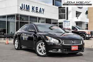 2013 Nissan Maxima SV W/ V6, LEATHER & MOONROOF