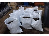 20+ bags of top soil - bagged and ready to collect