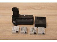 Meike 550D Battery Grip for Canon EOS 550D 600D 650D 700D + Charger