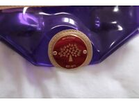 Mulberry - Purple - small toiletries bag - new with marks