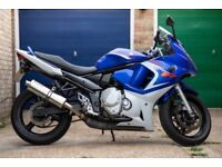 Suzuki GSX650F with EXTRAS