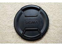 82mm lens cap for Canon EF EFS Nikon Sigma Tamron Pentax