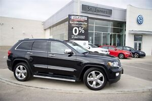 2012 Jeep Grand Cherokee Overland 4D Utility - Local one owner!