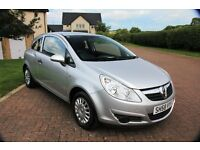 Vauxhall Corsa 3 Door Life Hatchback Mot June 2017 with Sevice History