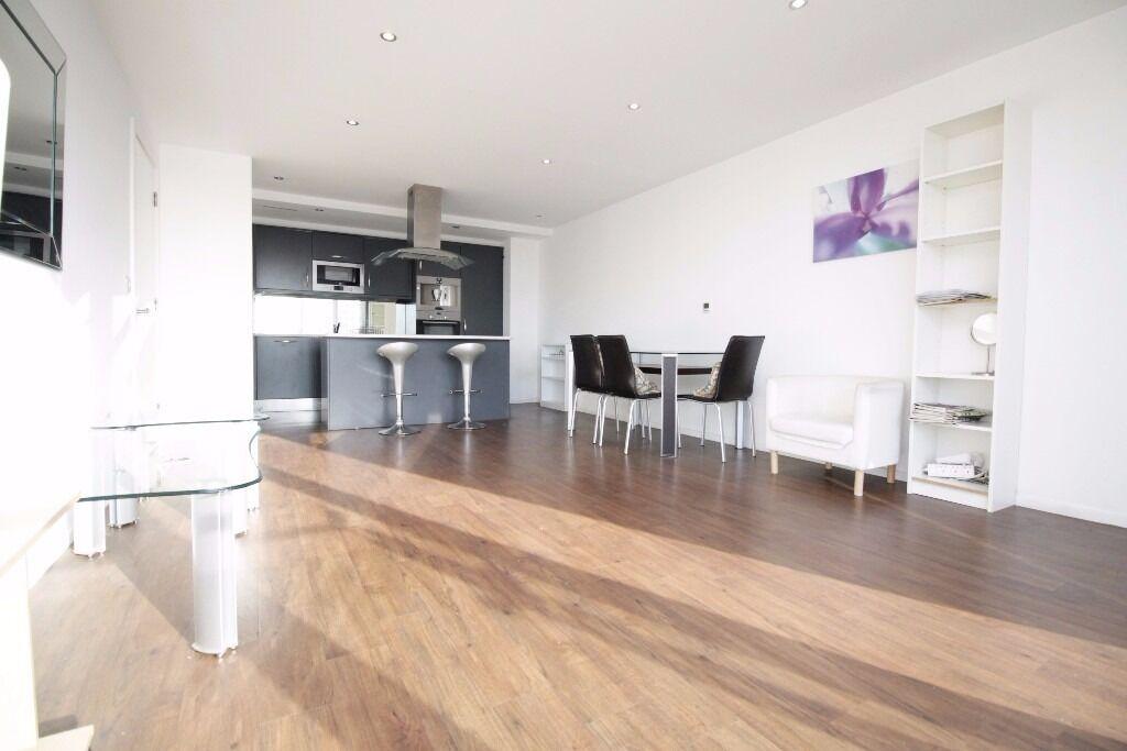 ***Stunning 2 Bedroom 2 Bathroom Apartment in Oxygen Building, Royal Victoria E16***