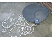 SAT SATELLITE DISH PACK