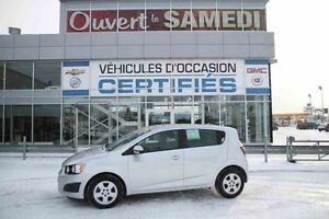 2014 Chevrolet Sonic LS TRES ECONOMIQUE