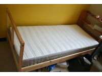IKEA single bed and mattress in excellent condition