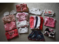 baby girl clothes 0-3 months bundle, 42 items including Next, Mothercare and Mamas & Papas