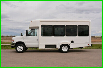 2014 Ford E-350 10 Passenger Paratransit Shuttle Bus Fleet-Maintained