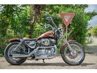 Harley Davidson Sportster (S&S Super Carb + Screaming Eagle Exhaust) Stunning Bike