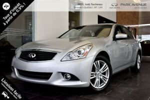 2013 Infiniti G37X MODEL LUXURY**LIQUIDATION DOIT PARTIR!!T***