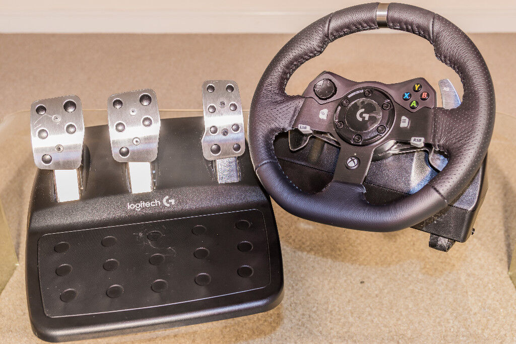 1589edf8ecf Logitech G920 Driving Force GT Racing Wheel & Pedals for Xbox One & PC -  New & Unused