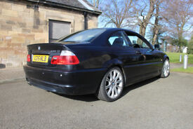 BMW 330 M-SPORT COUPE E46 SPARES REPAIR PARTS ? M3 M sport Bodykit Airbags Engine Gearbox LED Lights