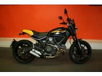2015 DUCATI SCRAMBLER FULL THROTTLE AS NEW CONDITION